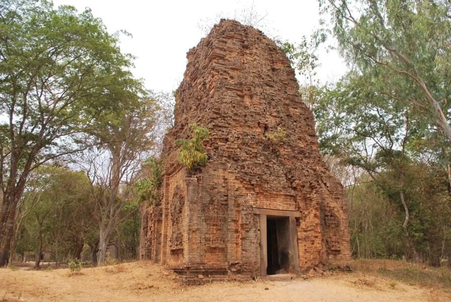 La zone des temples de Sambor Prei Kuk, au Cambodge