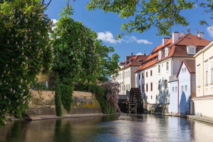 Vagabonder sur les îles de Prague