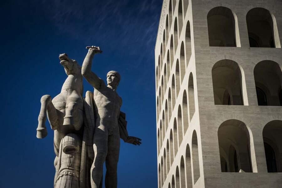 Une réinterprétation du Colisée carrée