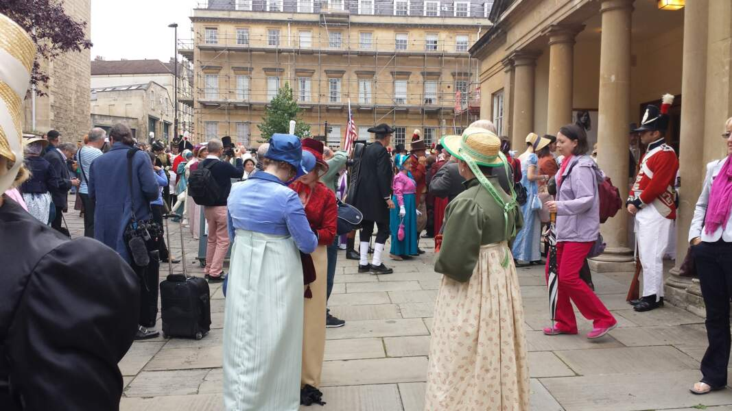 Défilé costumé en l'honneur de Jane Austen