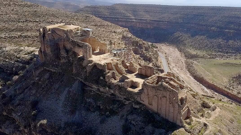 Le paysage archéologique sassanide de la région du Fars, en Iran