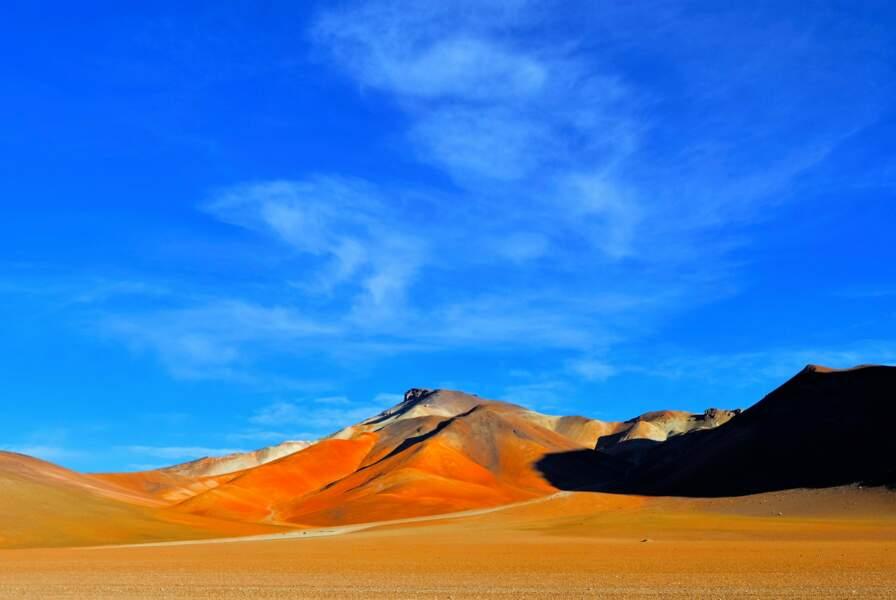 Beauté des paysages colorés en Bolivie