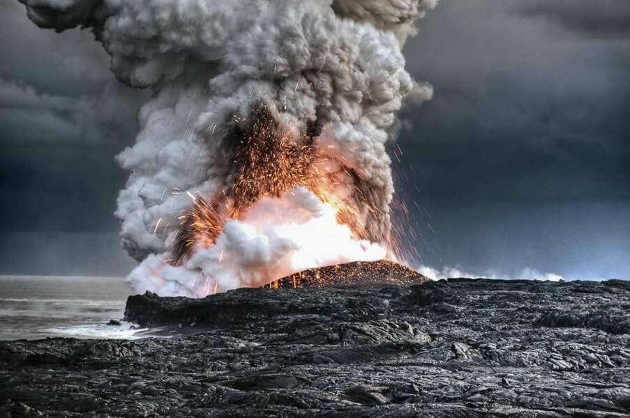 Photo prise à Hawaï, par le GEOnaute alainbarbezat