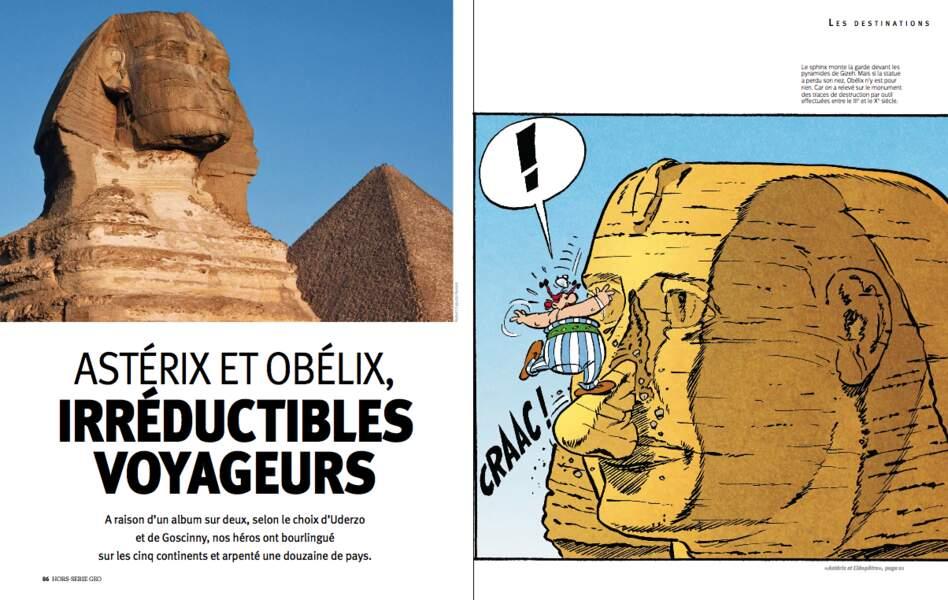 Astérix et Obélix, irréductibles voyageurs