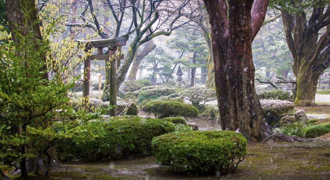 Kenrokuen, Kanazawa, Japon