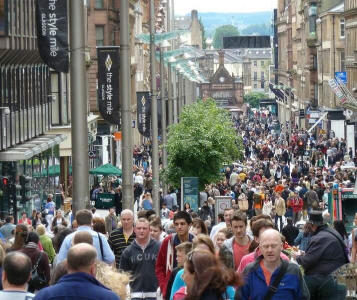 Glasgow, reine du shopping