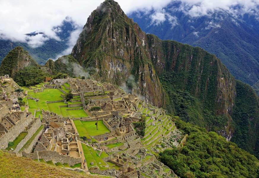 Le Machu Picchu, perché à 2430 m d'altitude