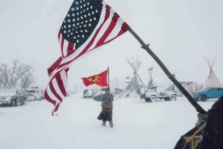 """""""Standing Rock"""" - Sujets contemporains, 1er prix (catégorie Série)"""
