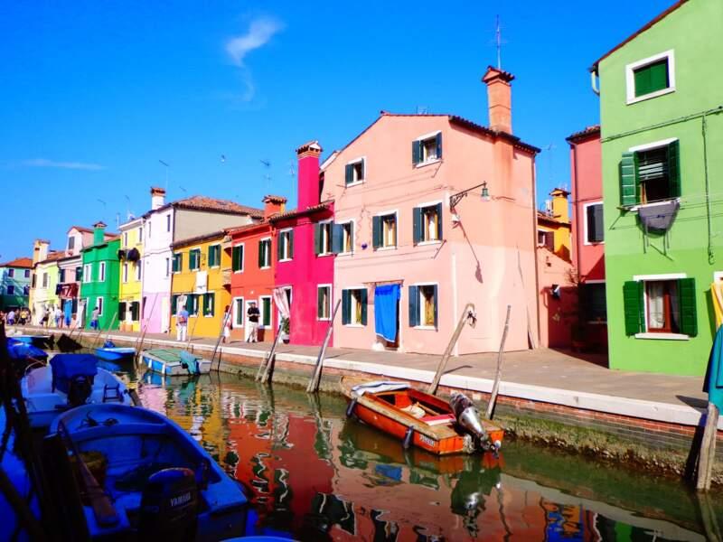 Italie - Murano et Burano ... Les îles de la Lagune