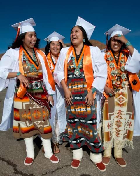Remise des diplômes version navajo