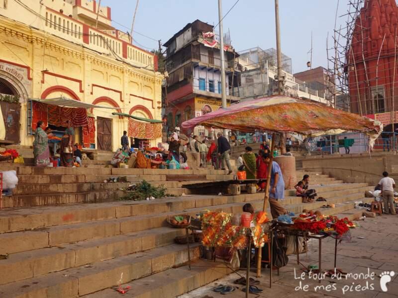 L'Inde en images : Varanasi pendant Divali