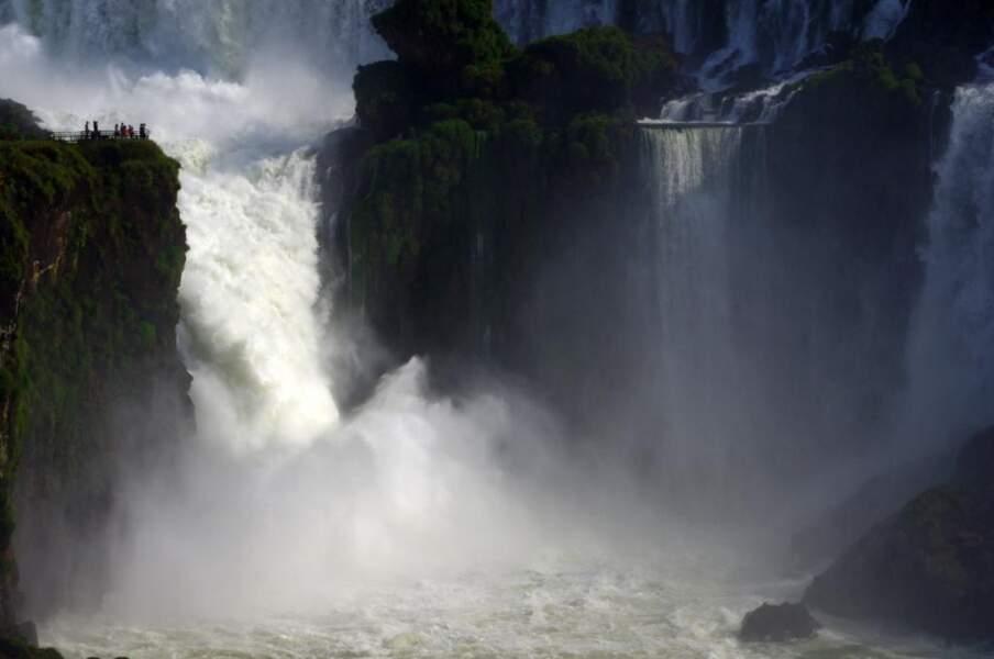 Iguazu, à la frontière entre Brésil et Argentine, par Alain Goldfarb