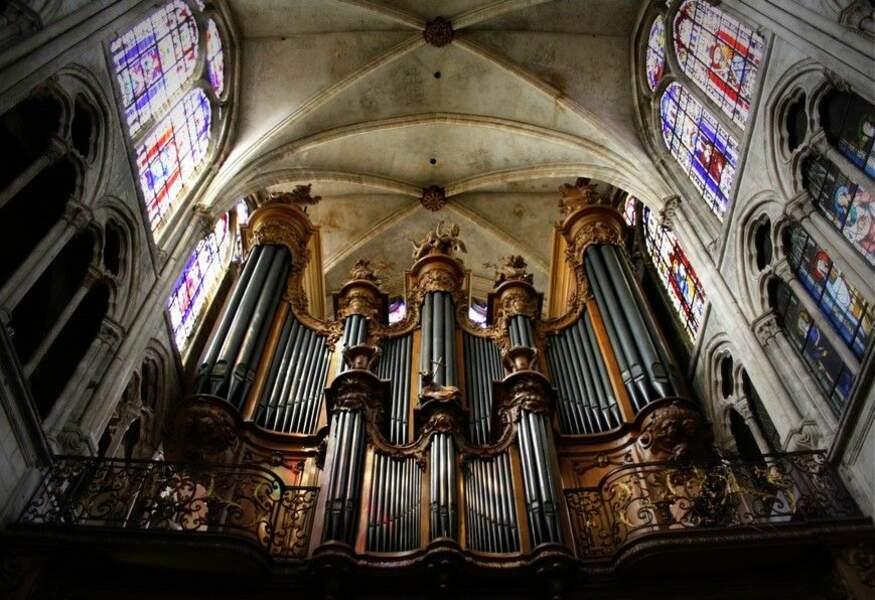 Photo prise dans l'église Saint-Séverin, à Paris (Ve) par le GEOnaute : La Trougne