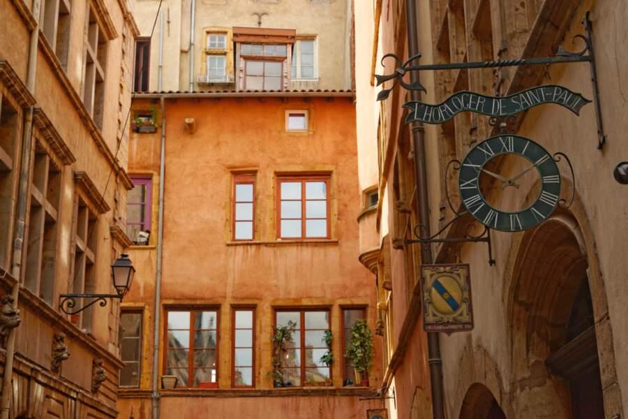 France - Visite du vieux Lyon et des traboules