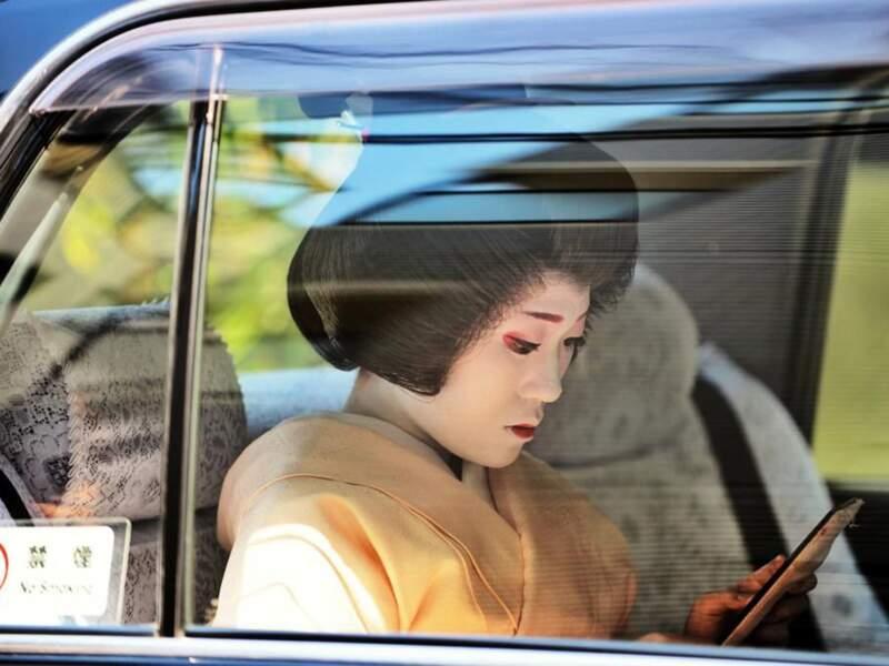 Photo prise à Kyoto (Japon) par le GEOnaute : Astrid Deryck