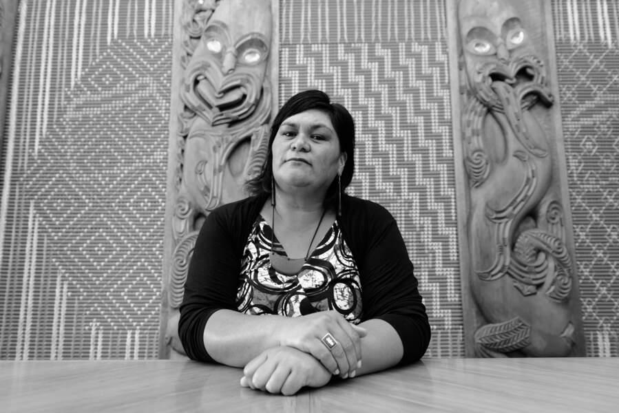 Nanaia Mahuta, députée travailliste
