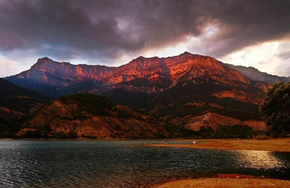 Photo prise au Lac de Serre-Ponçon (Provence-Alpes-Côte d'Azur) par le GEOnaute : totobr