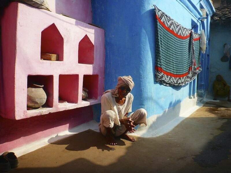 Photo prise en Inde par le GEOnaute : ddupre