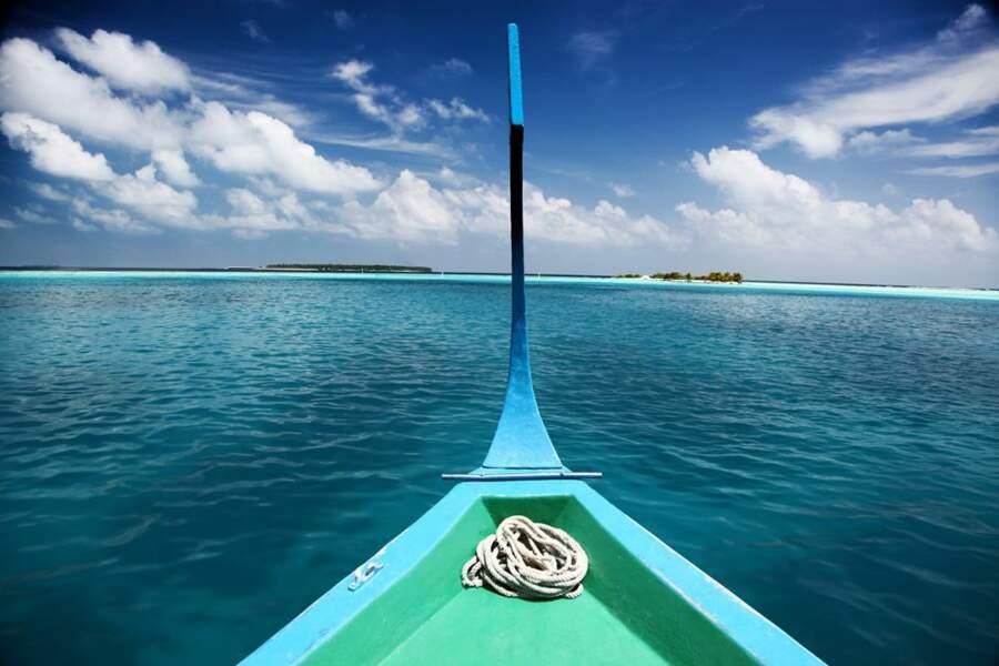 Photo prise aux Maldives par le GEOnaute : bynico