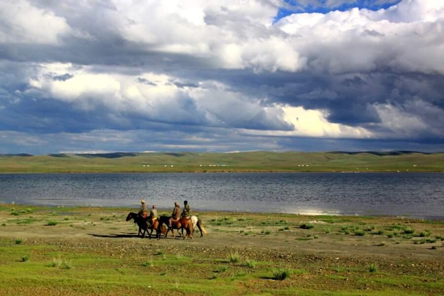 Les steppes de Mongolie par Anaëlle Collet