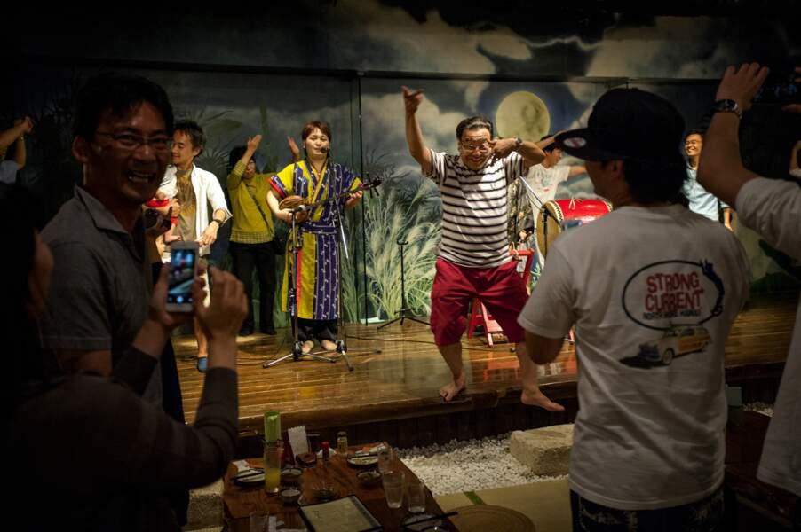 Restaurant traditionnel à Okinawa