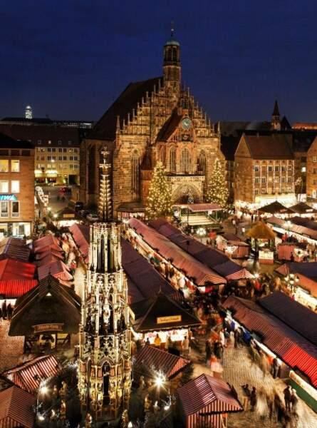 Le charme médiéval de Nuremberg