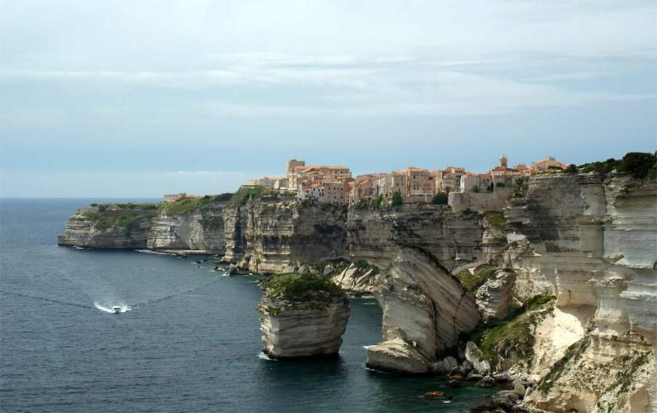 Photo prise à Bonifacio (Corse) par le GEOnaute : provence-laurentides