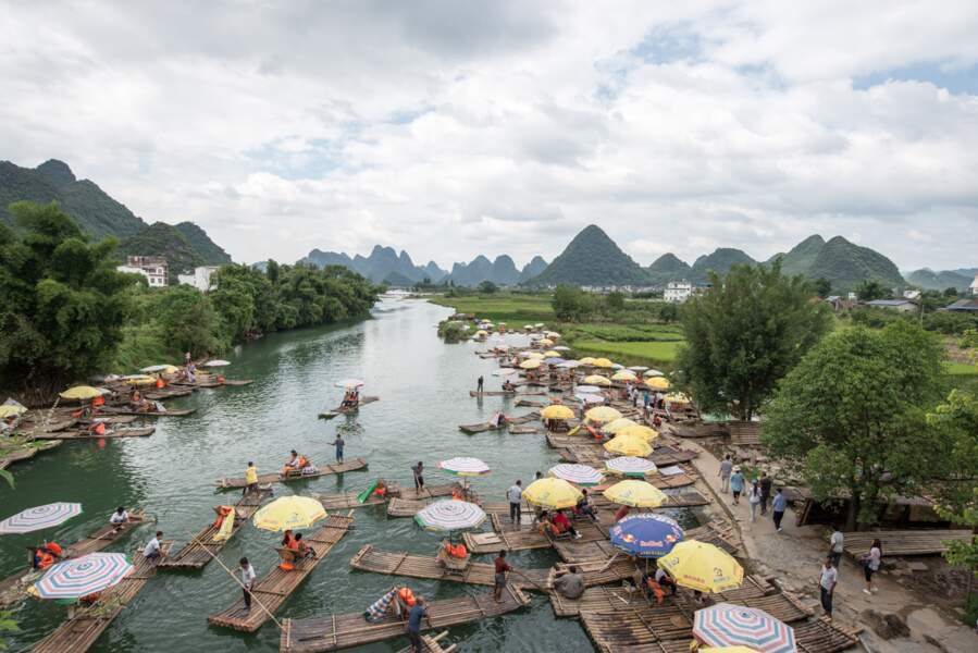 Chine - Les paysages karstiques de Yangshuo