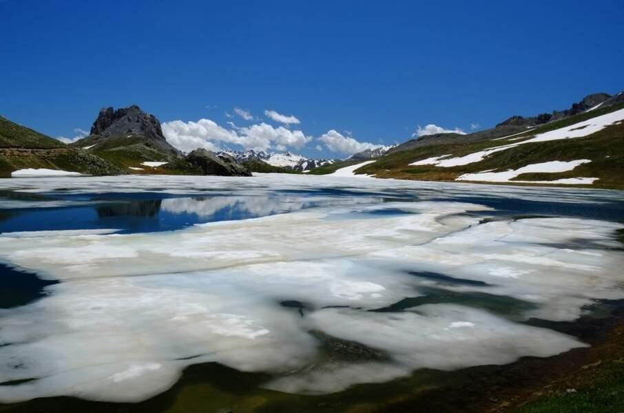 Photo prise au Lac du Roburent par le GEOnaute : totobr
