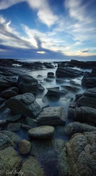 Paysage sur l'Île d'Yeu (photo du GEOnaute gaelboulay)