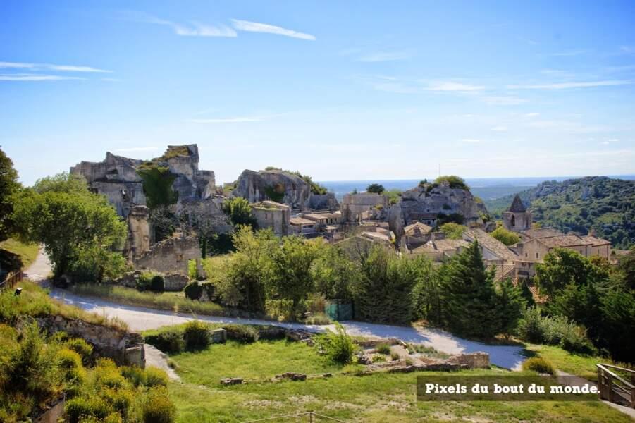 Promenade dans le village des Baux-de-Provence