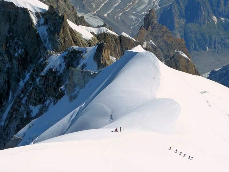 Photo prise dans le Massif du Mont-Blanc par le GEOnaute : raymonde.contensous