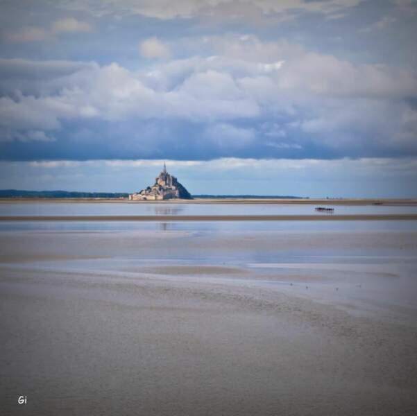 Photo prise au Mont-Saint-Michel (Manche) par le GEOnaute : piechowski