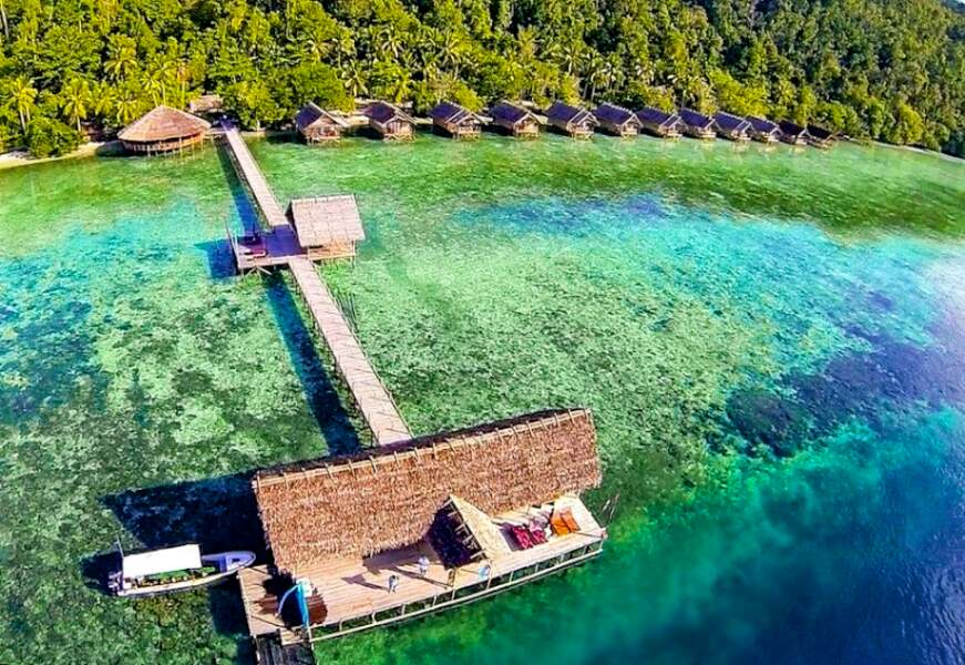 Indonésie - Papua Explorers Resort, notre pied-à-terre à Raja Ampat