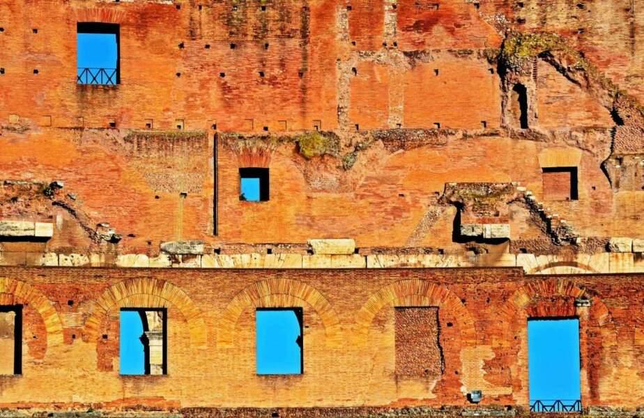 Photo prise au Colisée, à Rome (Italie) par le GEOnaute : alexandre jouatel