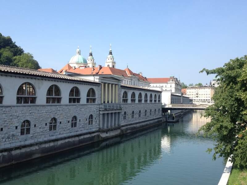 Une balade à Ljubljana: dragons, château et pâtisseries