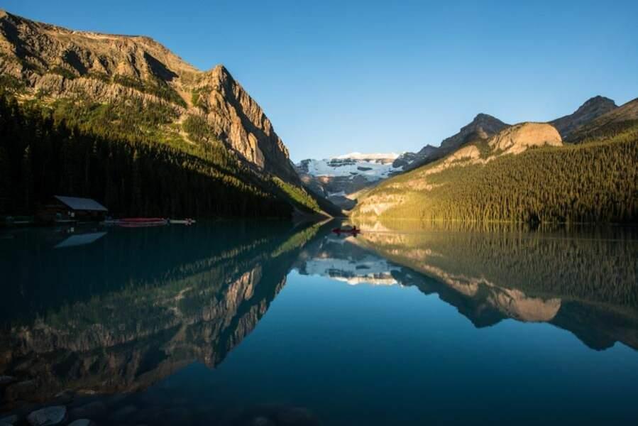 Lac Louise dans le parc national de Banff, au Canada, par le GEOnaute jeremie747