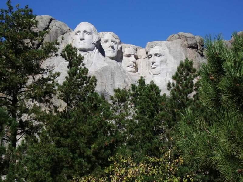 Etats-Unis - Mont Rushmore