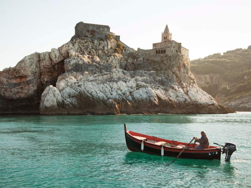 Le château des Doria à Portovenere