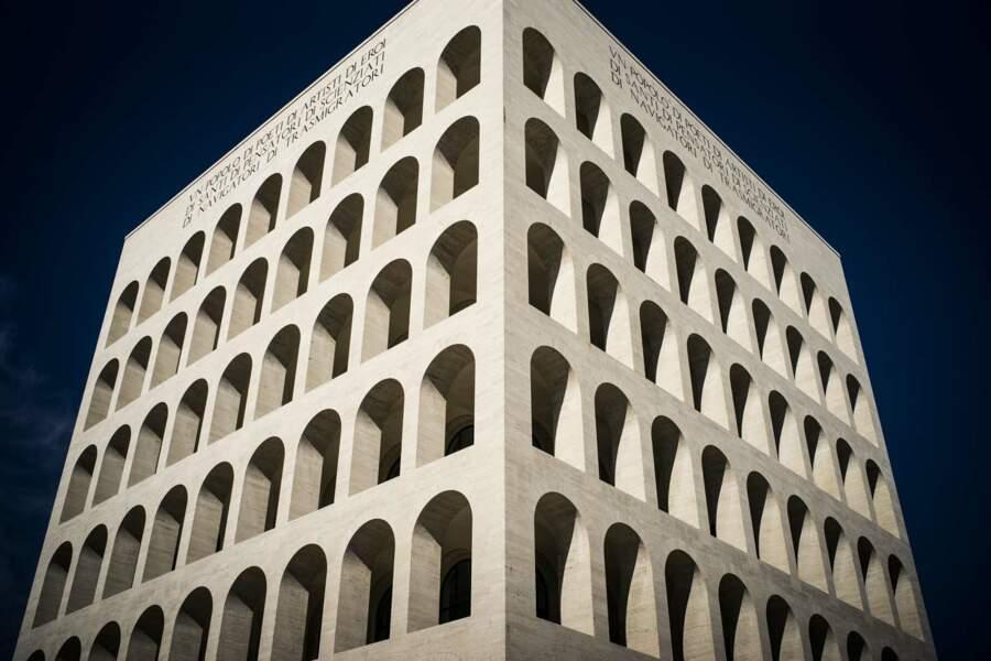 Le Palais de la civilisation italienne, monument emblématique de l'architecture fasciste