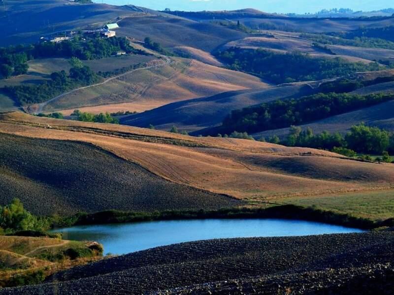 Photo prise près de Sienne (Italie) par le GEOnaute : mazereau