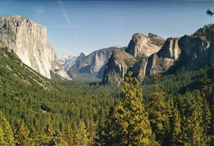 Photo prise dans le parc national de Yosemite (Etats-Unis) par le GEOnaute : webigno
