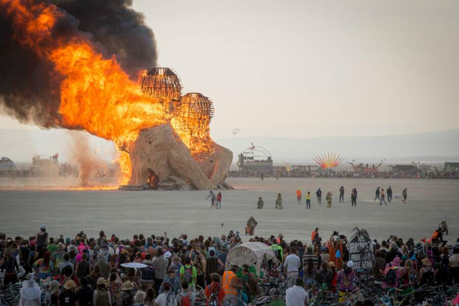 Le Burning Man, dans le Nevada