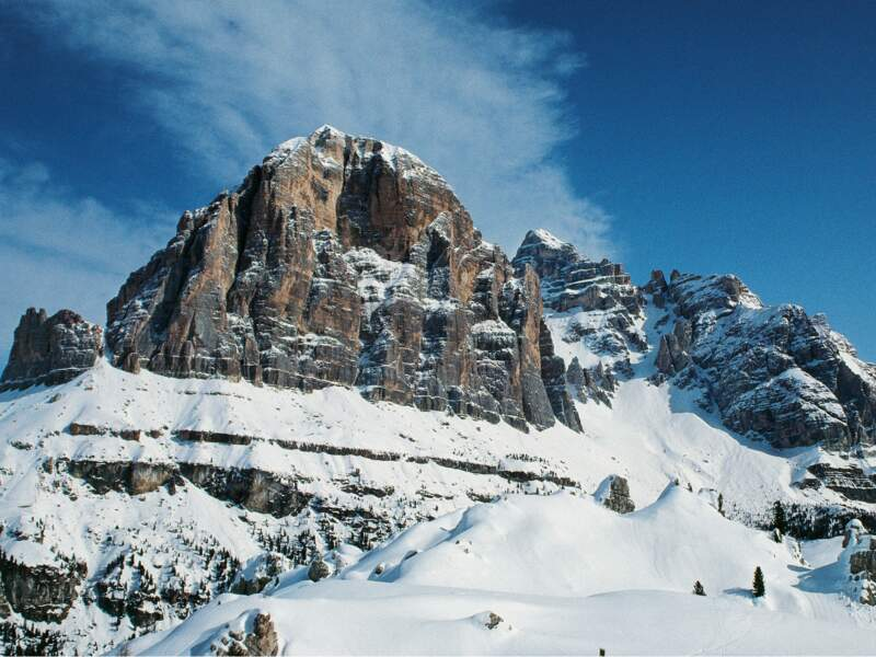 Ski : l'Olimpia, la prestigieuse piste de Cortina d'Ampezzo en Italie