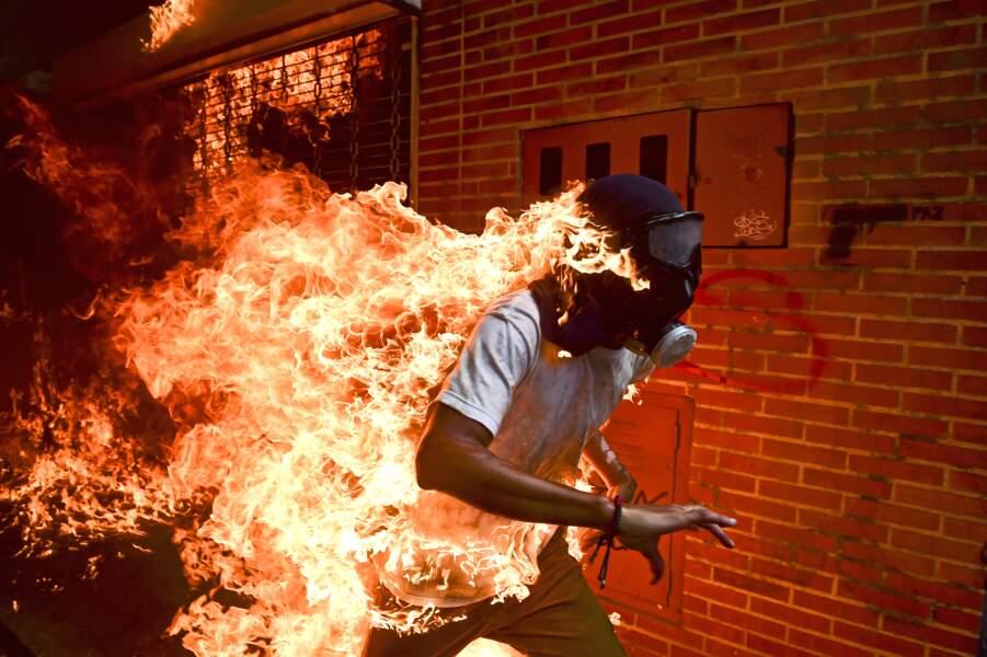 """Situation de crise au Venezuela - Catégorie """"photo de l'année"""""""