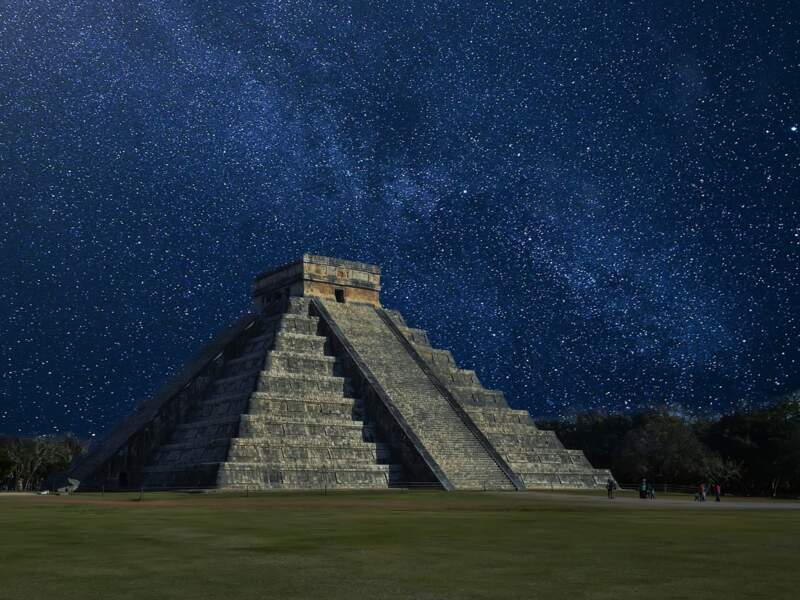 La pyramide de Kukulcan, à Chichén Itzá, patrimoine mondial de l'UNESCO