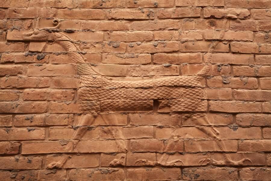 Le mušhuššu, créature mythologique