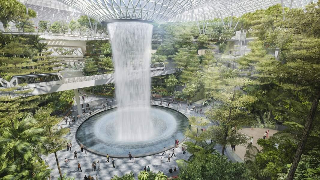 La plus grande cascade intérieure du monde
