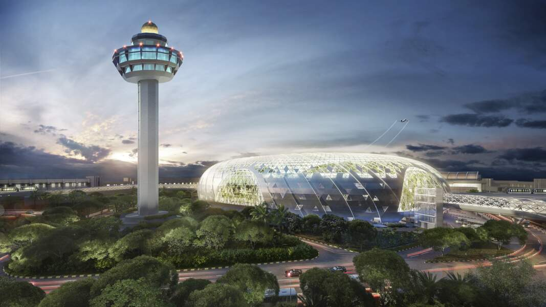 Bienvenue au Jewel Changi Airport