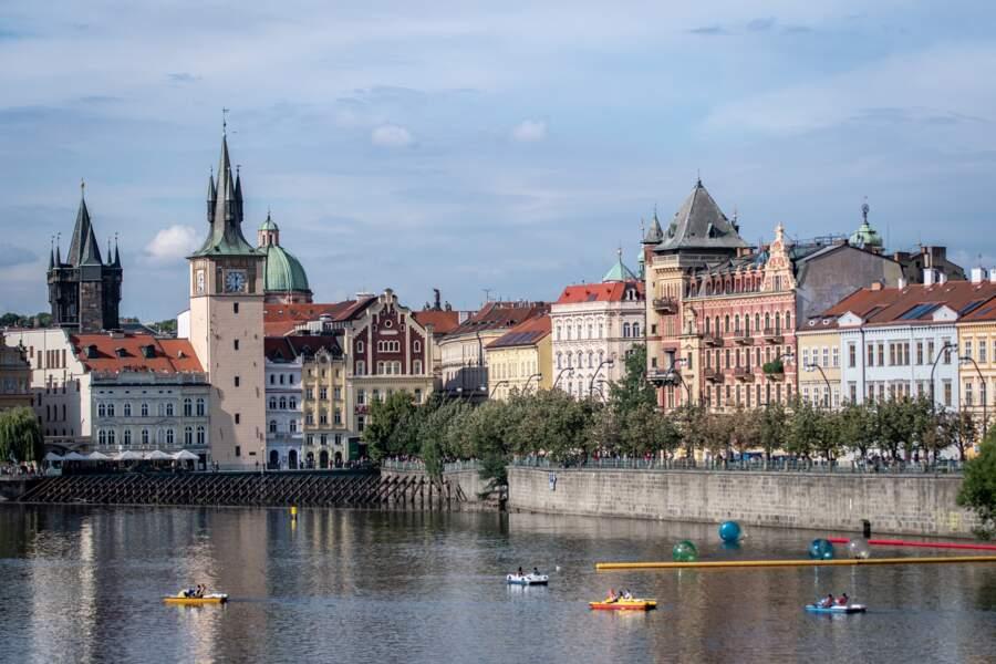 Profiter desbords de la Vltava